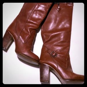 """Awesome vintage 70""""s tall boots"""